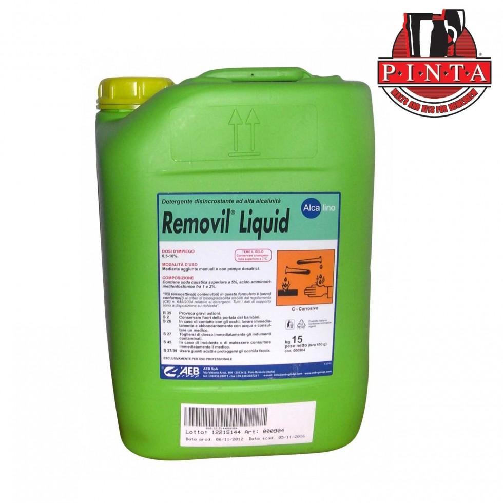 Removil liquid kg.15 - Detergente caustico