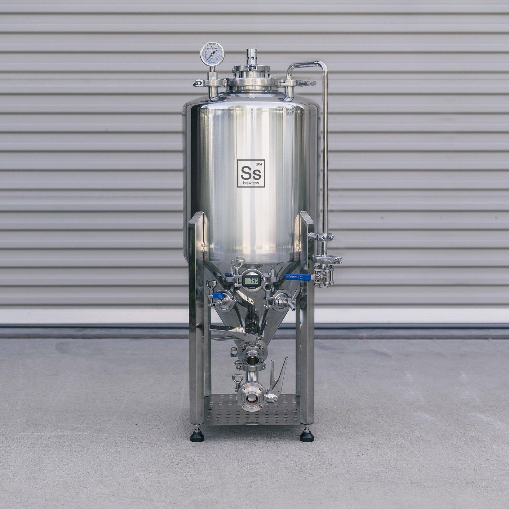 Fermentatore conico isobarico Ss Brewtech Unitank Half BBL 64lt