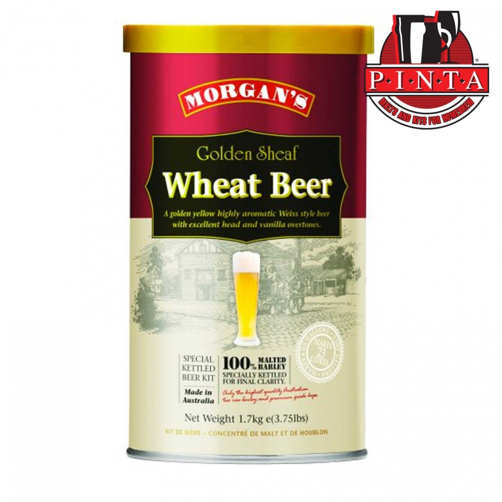 Malto Morgan's Premium Golden Sheaf Wheat Beer