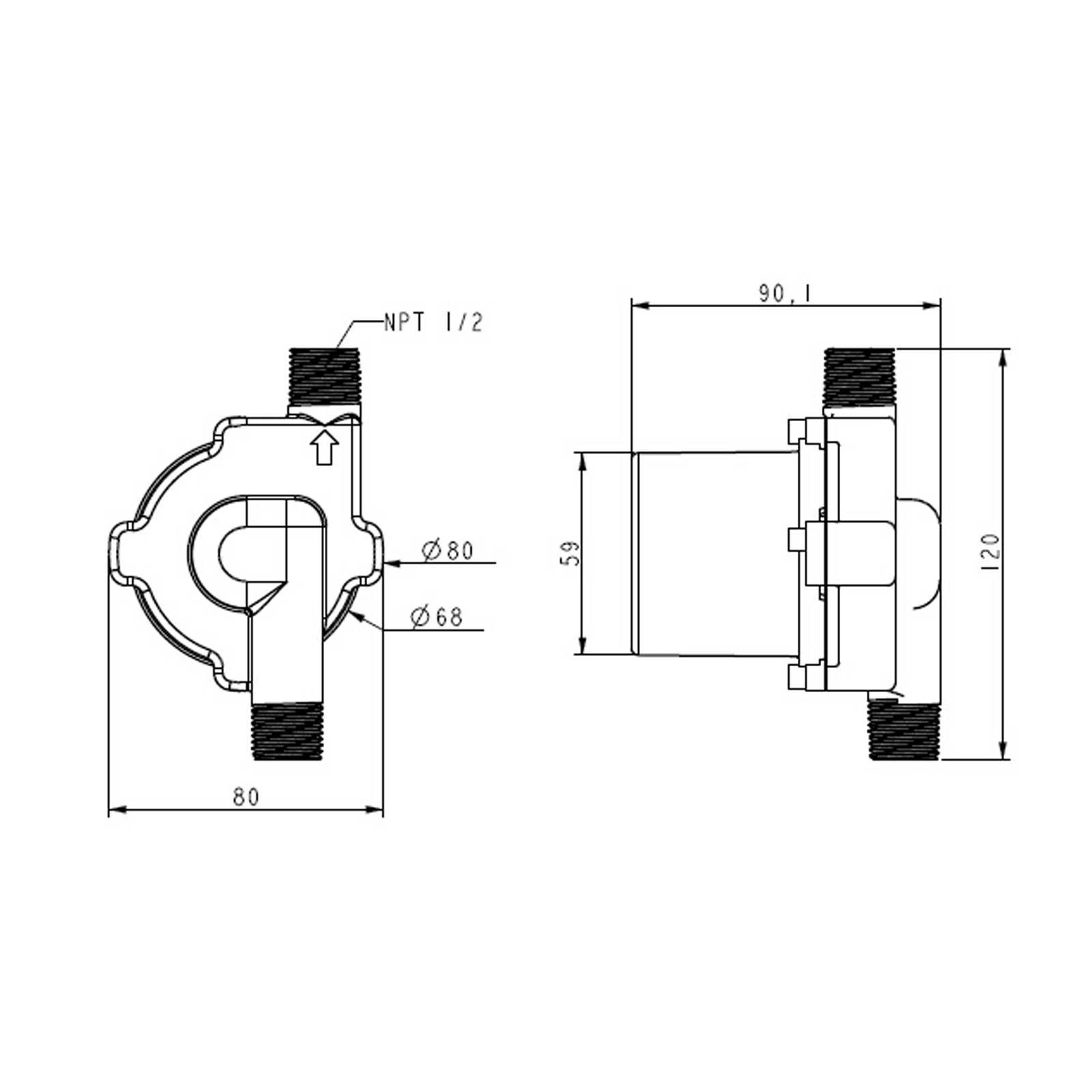 Pompa per mosto TOPSFLO TD5 acciaio inox