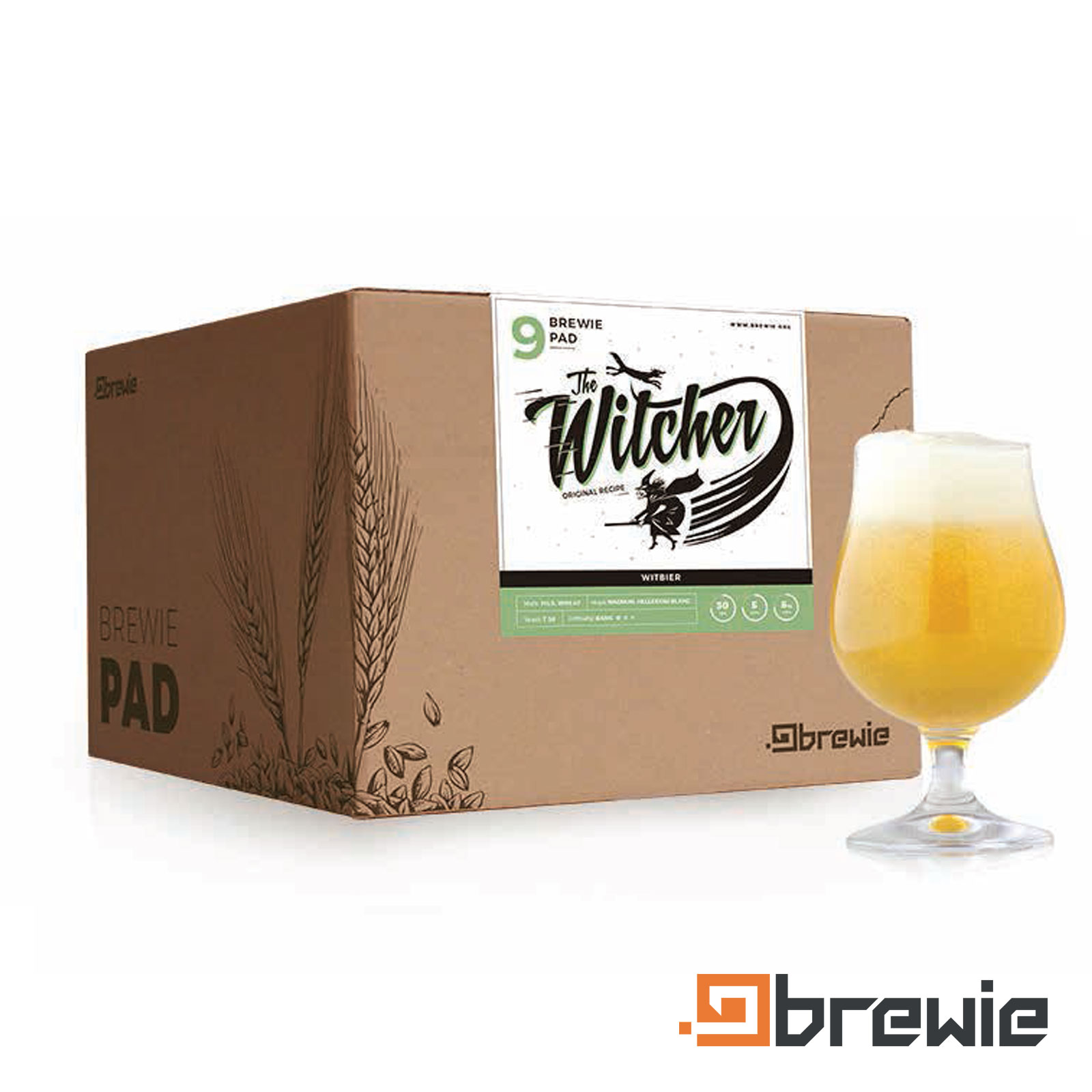 Kit All grain Brewie Witcher Witbier - Blanche