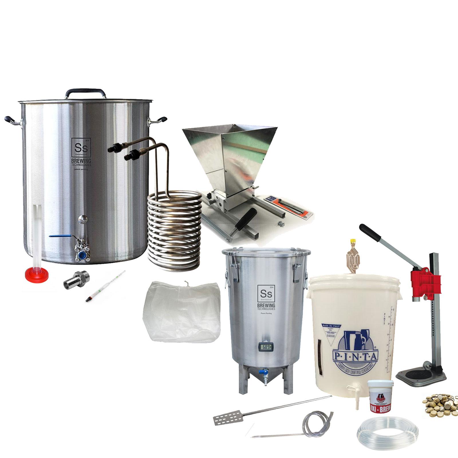 Kit produzione birra all grain Professional Pinta