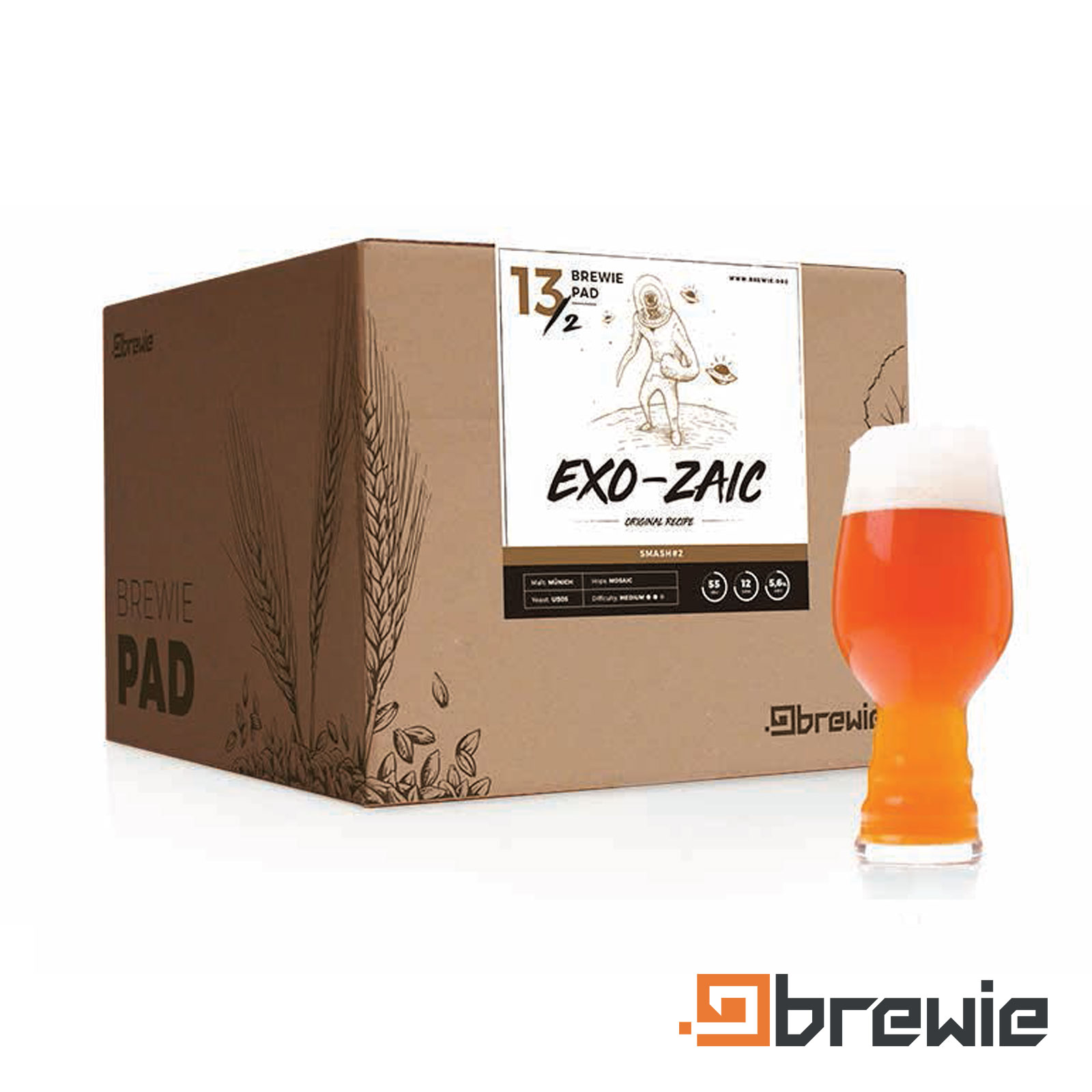 Kit All grain Brewie Exo-zaic Munich American Pale ale