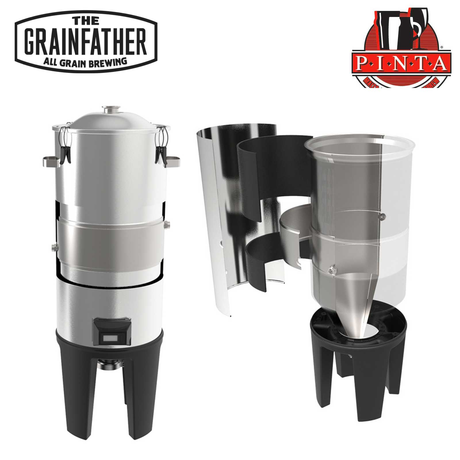 Kit fermentatore Grainfather + Glycol Chiller controllo temperatura