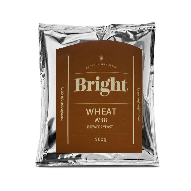 Lievito secco per birra w38 Bright Wheat beer 100 gr