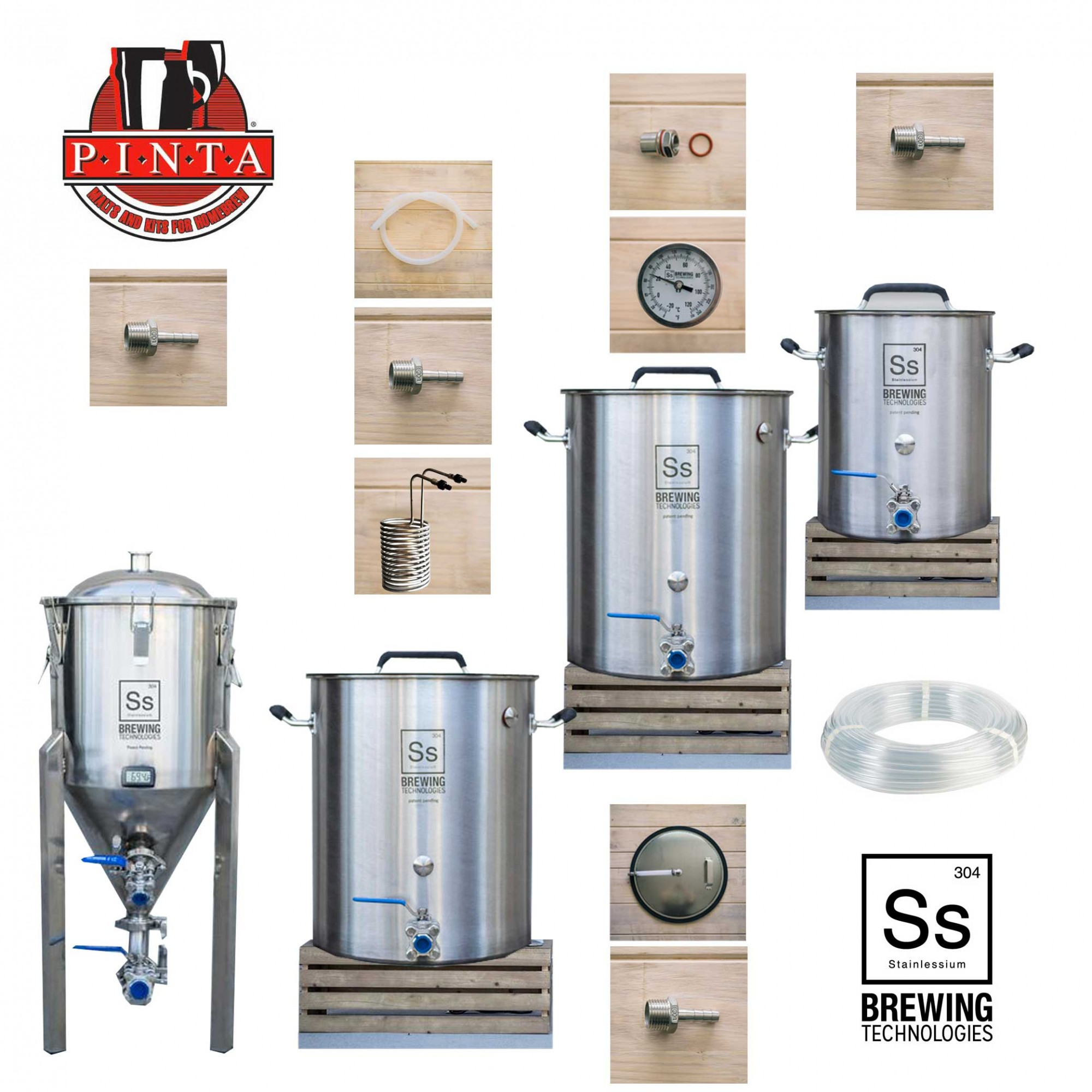 Impianto Ss Brewtech 23lt vol 1