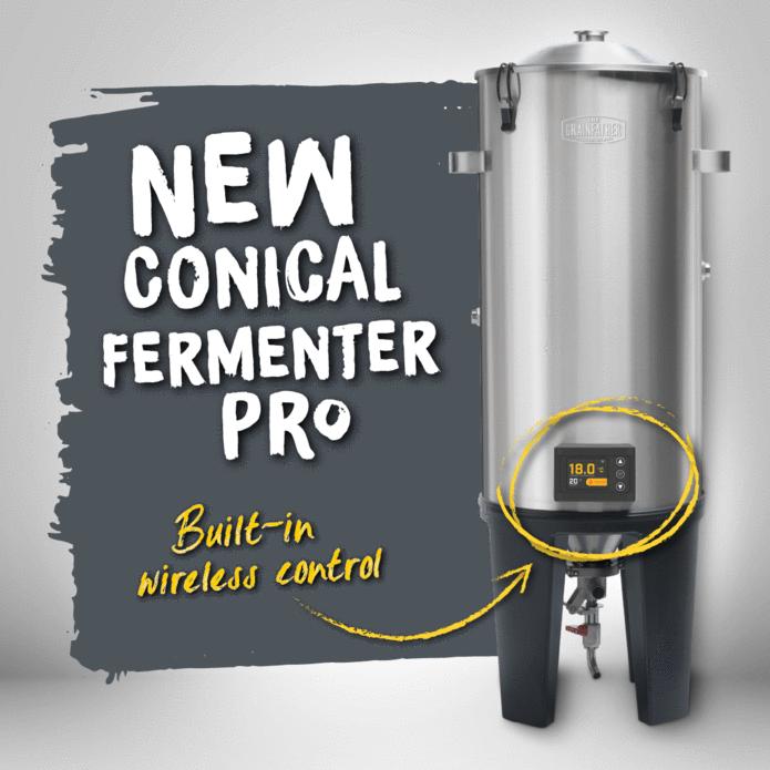Fermentatore conico GRAINFATHER Pro con Wireless Controller