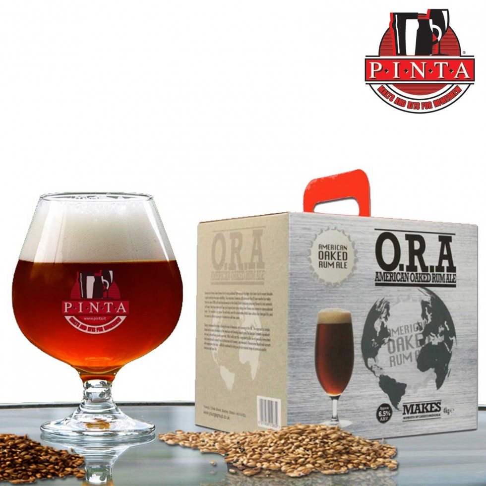 O.R.A American Oaked Rum Ale