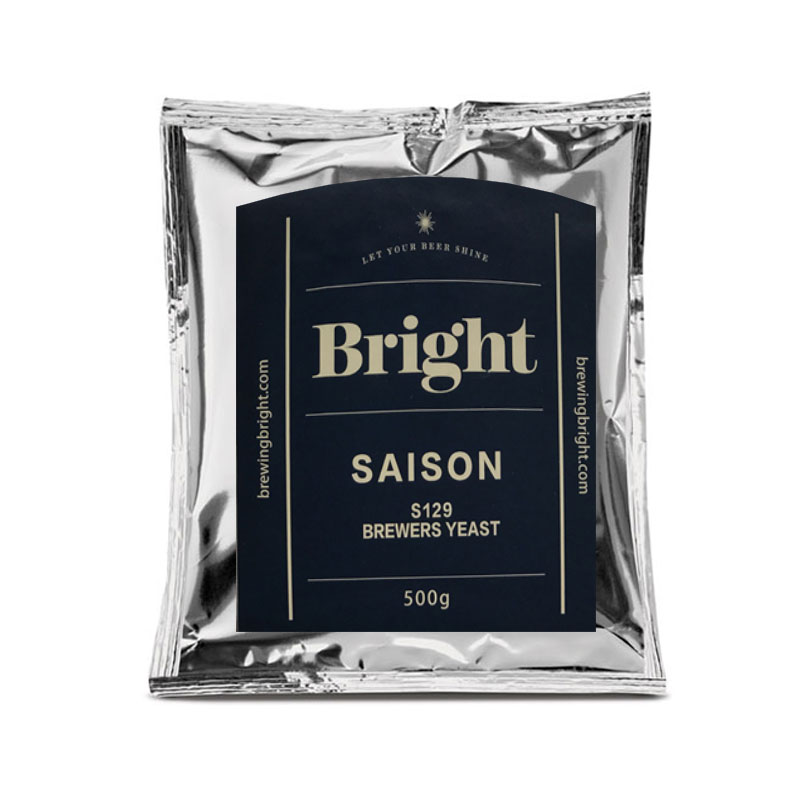 Lievito secco per birra S129 Bright Saison 100 gr