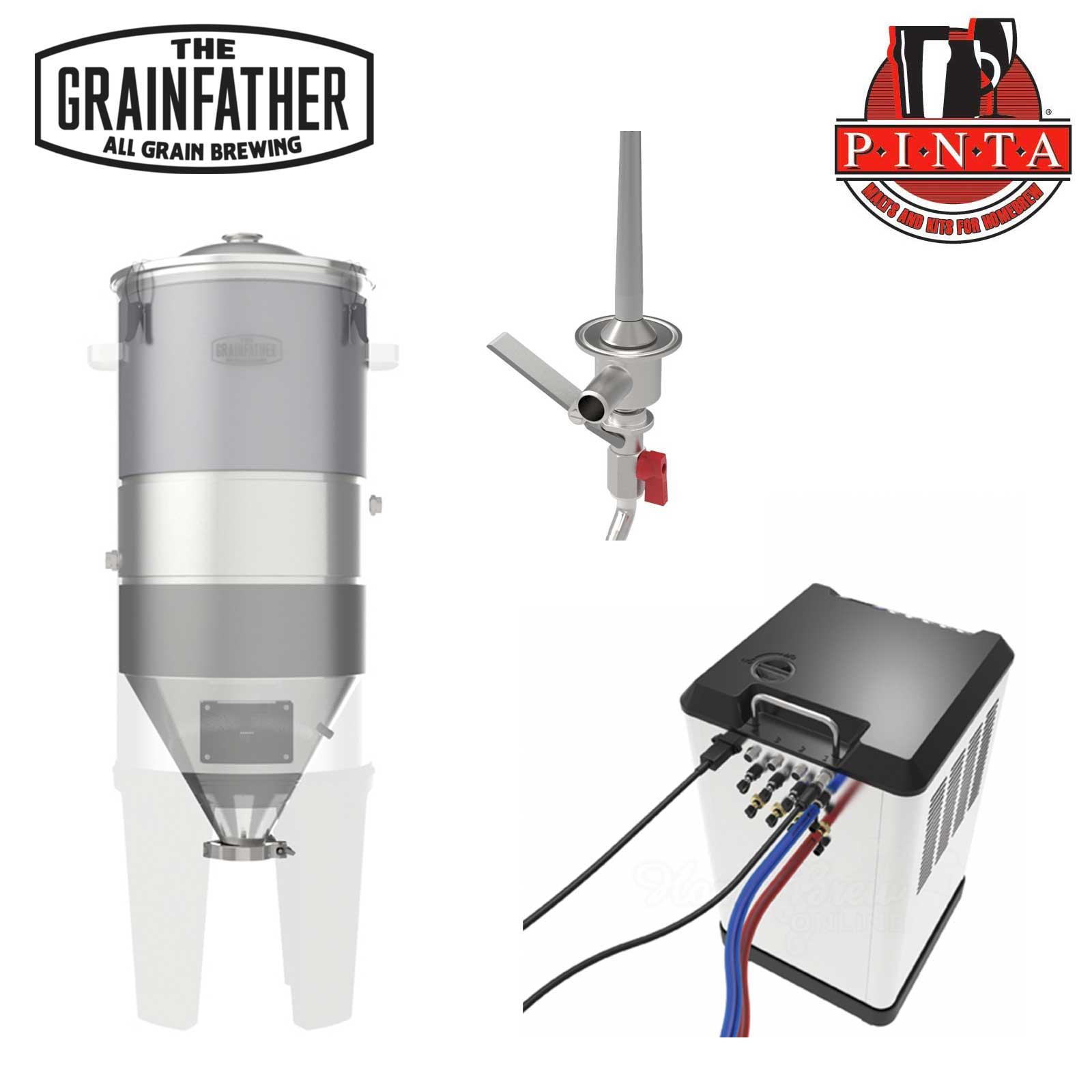 Kit fermentatore Grainfather + Glycol Chiller controllo temperatura