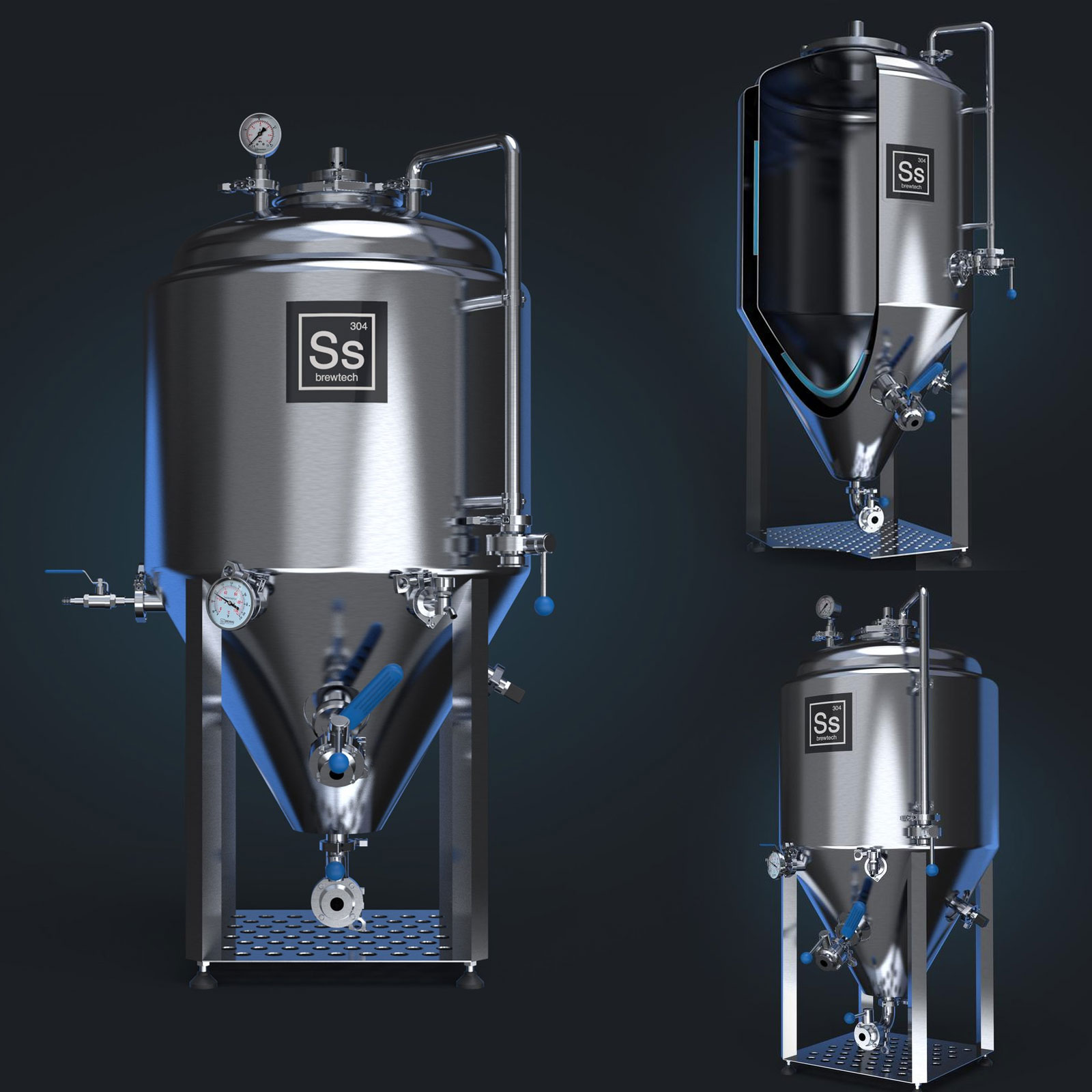 PINTA   Jacketed Ss Brewtech Cone isobaric fermenter Jacketed Ss ...