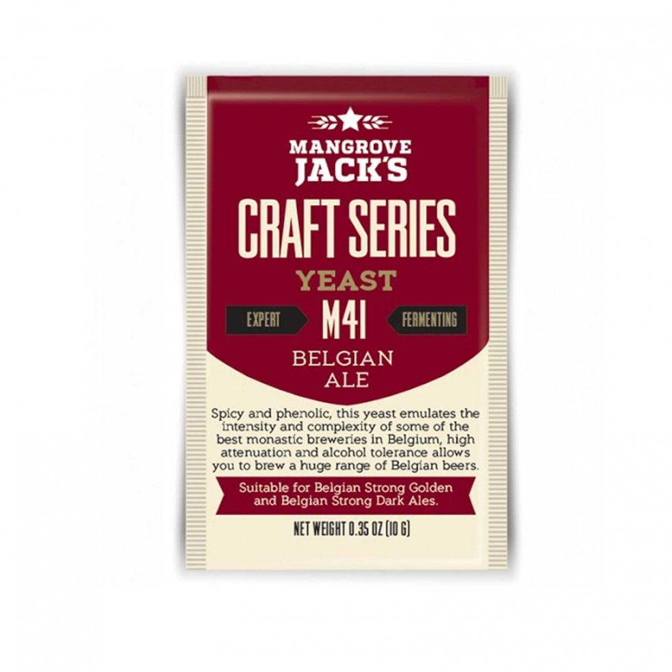 Lievito Mangrove Jack's Belgian Ale M41 10gr
