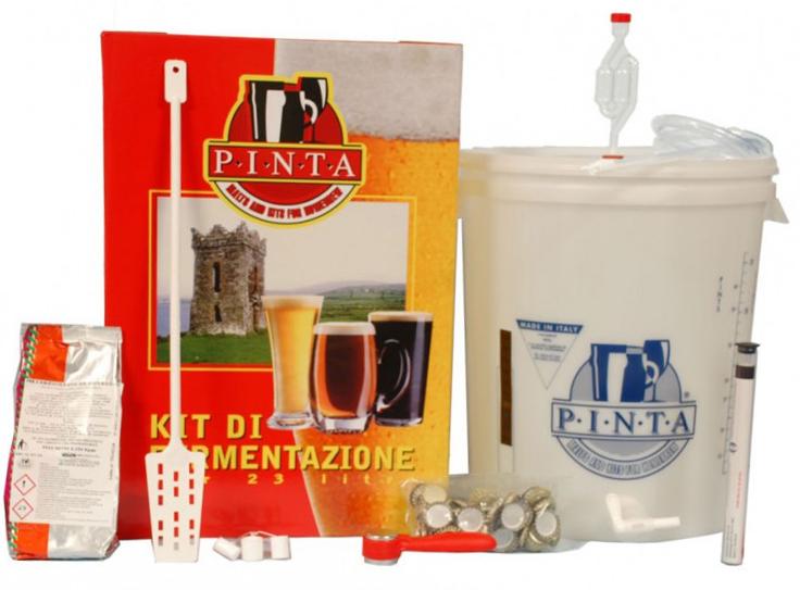 Kit Birra Standard Pinta (senza malti)