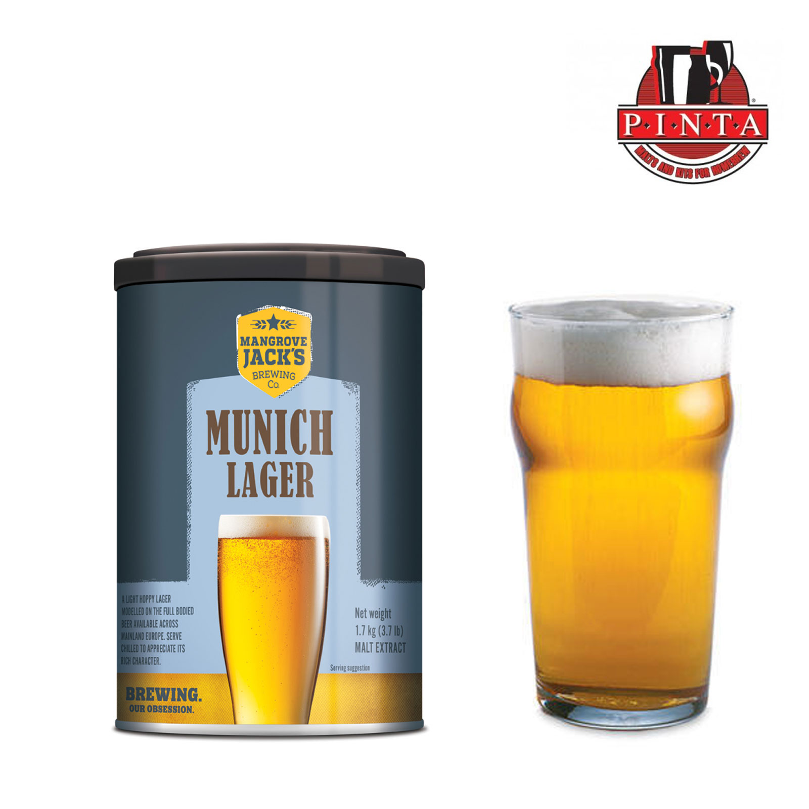 Malto Mangrove Jack's cans Munich Lager