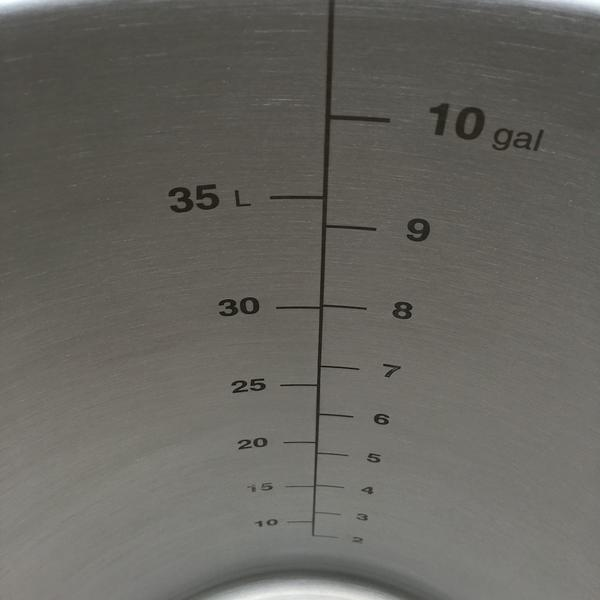 Pentola Ss Brew Kettle 10 Gal. (38 lt)