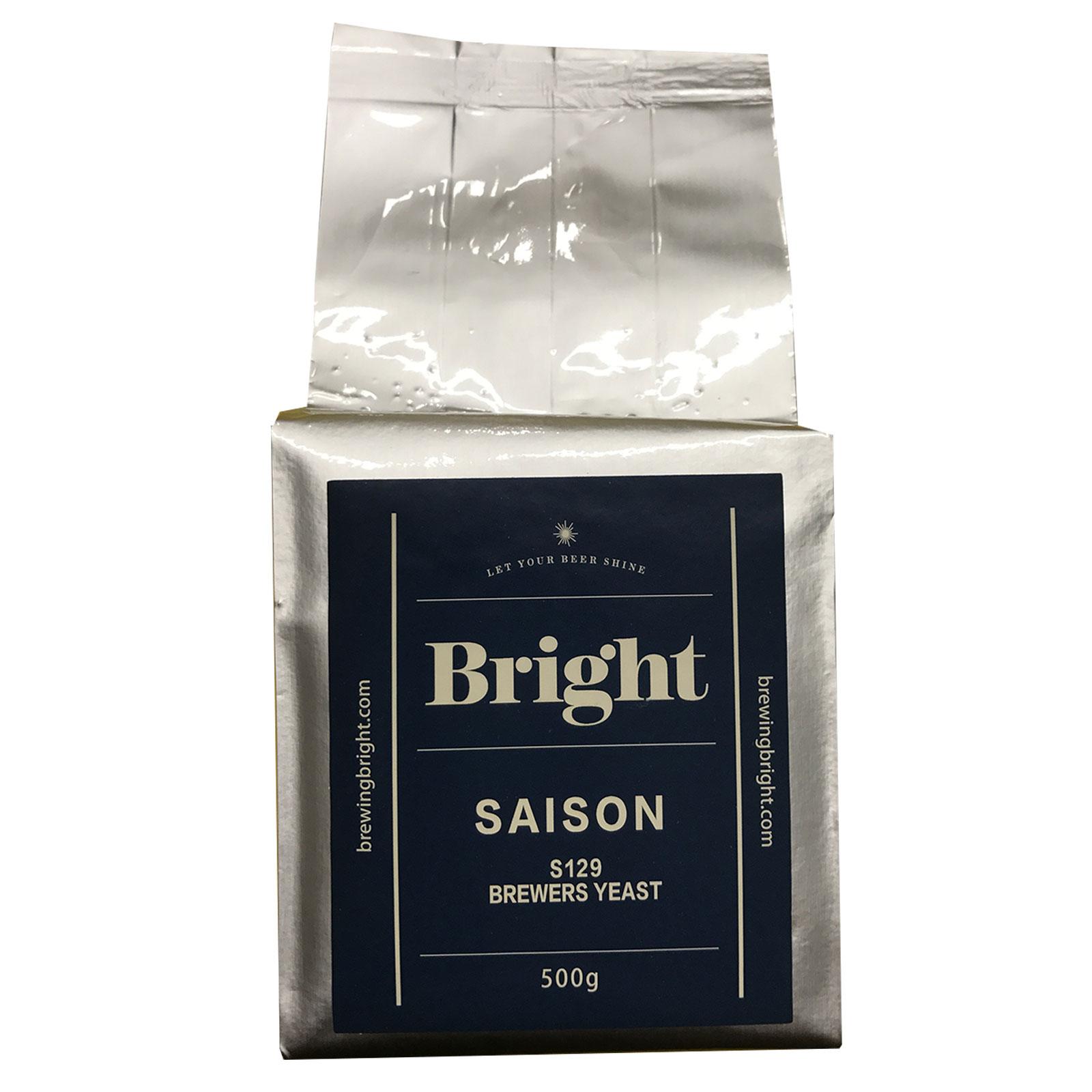 Lievito secco per birra S129 Bright Saison 500 gr