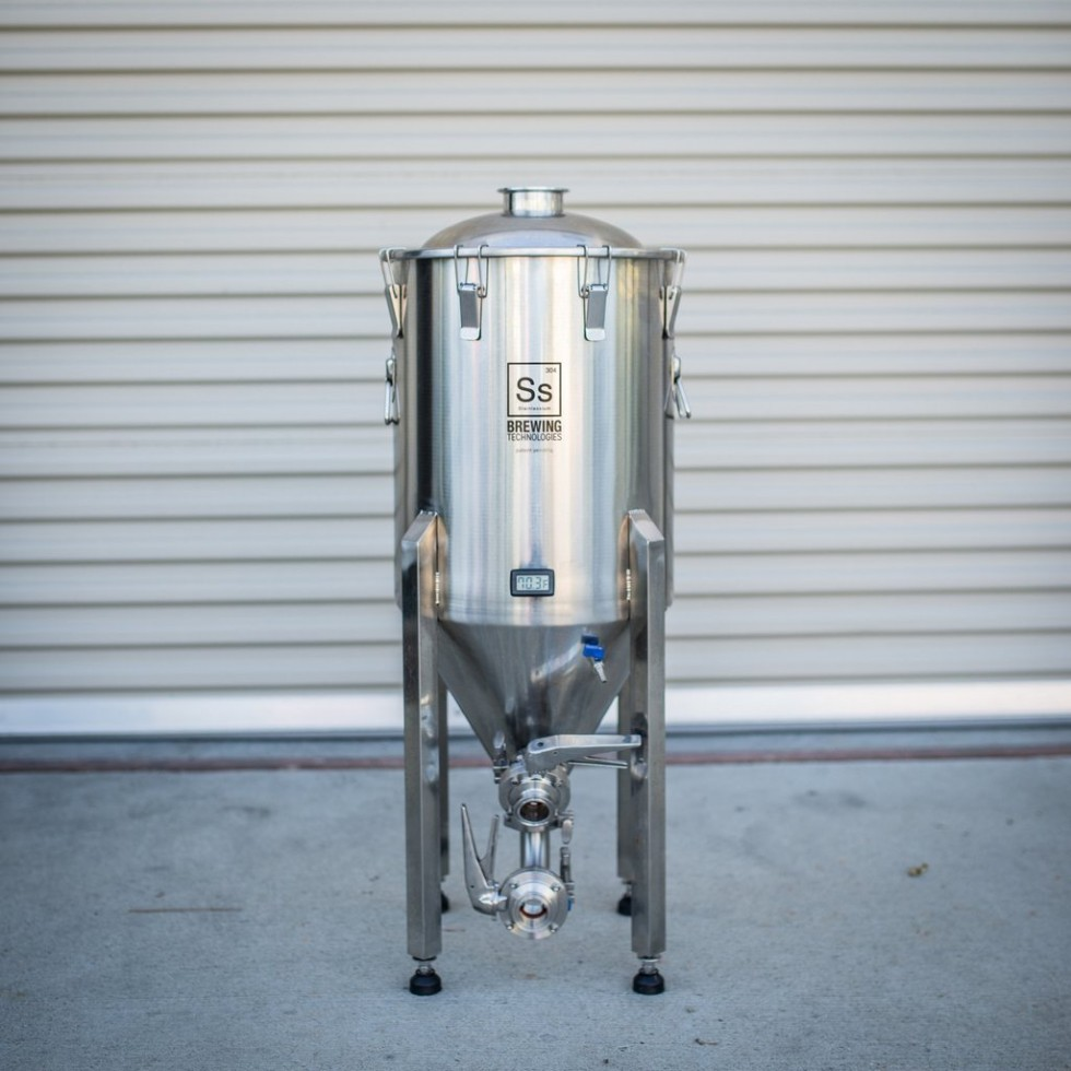 SS FERMENTATORE CHRONICAL 14 Gal. (53 lt.) BREWMASTER ED.