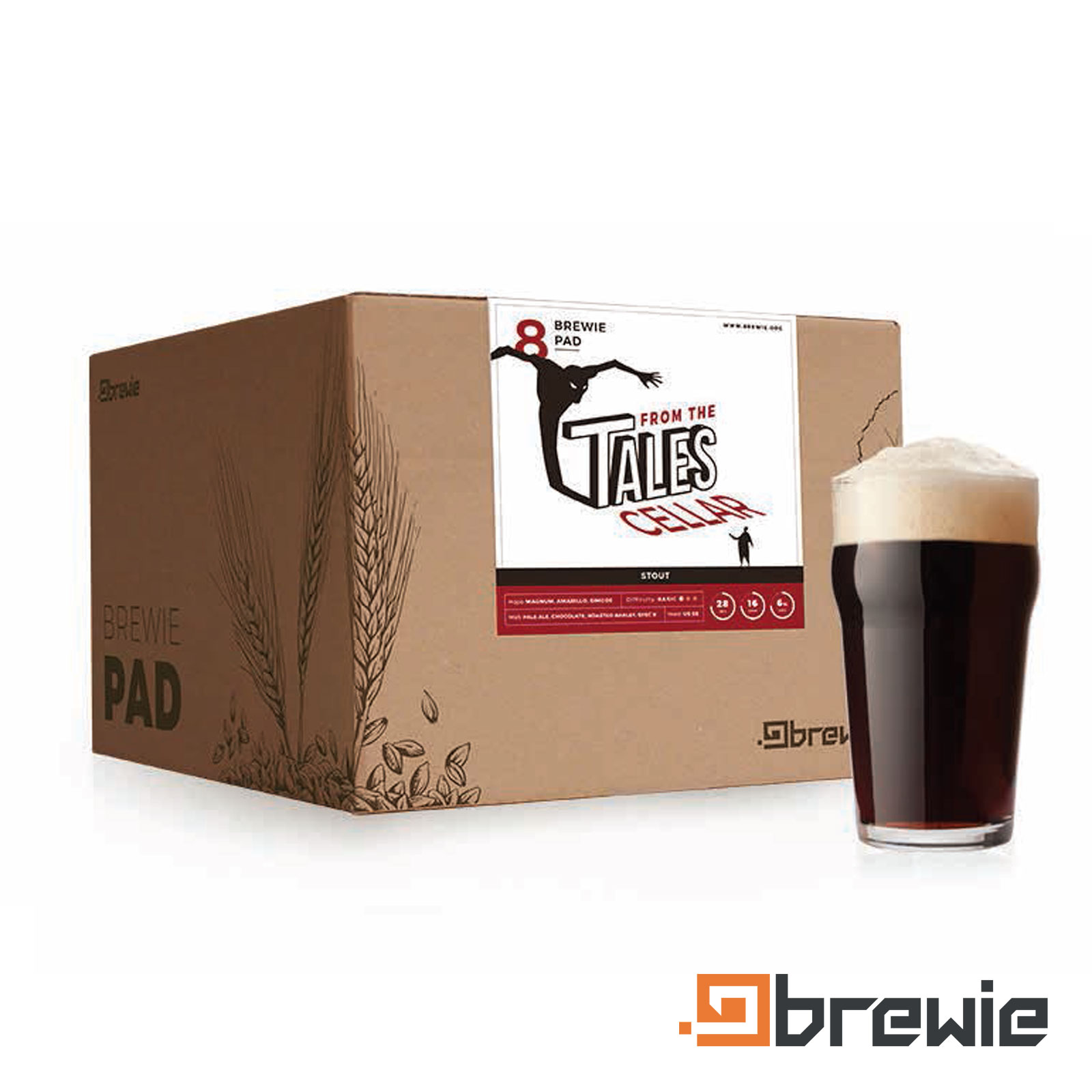 Kit All grain Brewie Tales from the Cellar American Stout