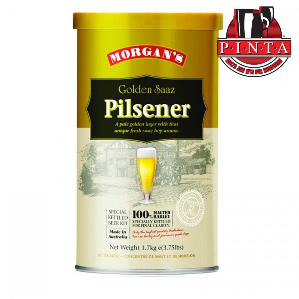 Malto Morgans Premium Golden Saaz Pilsner
