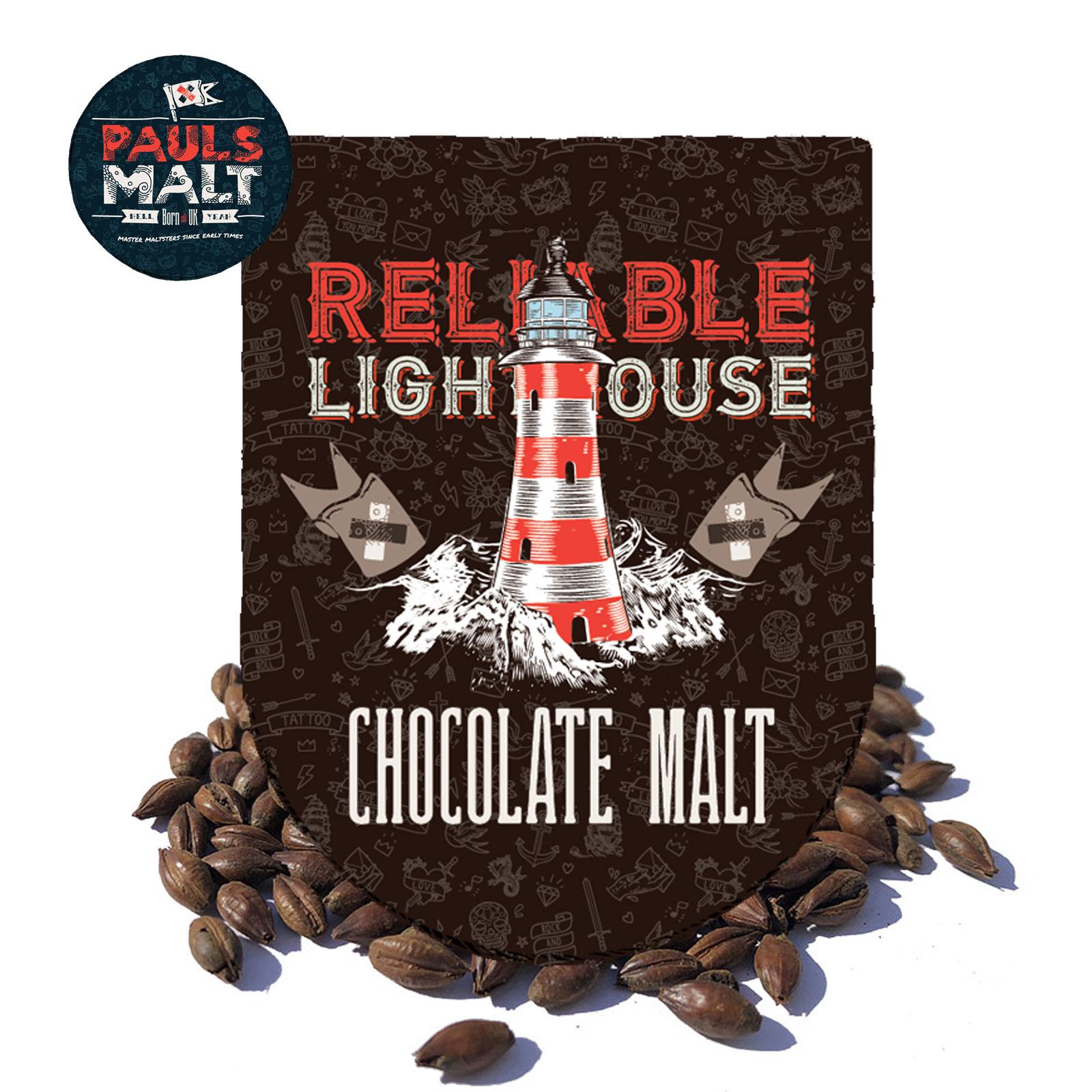 Malto in grani Pauls Chocolate inglese 1 kg.