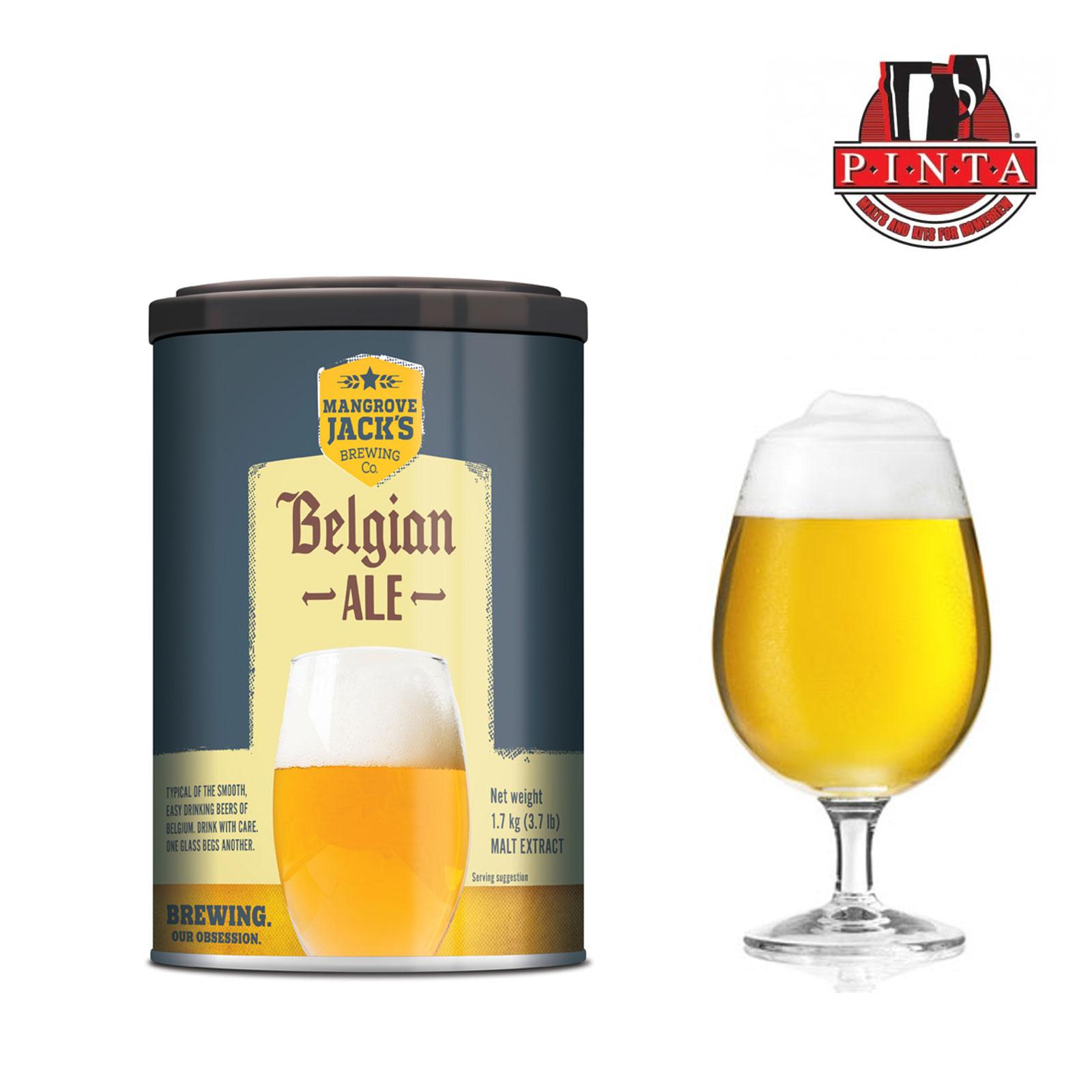 Malto Mangrove Jack's cans Belgian Ale