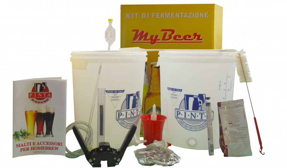 KIT MY BEER 2 leve con 2 malti Geordie - offerta WEB
