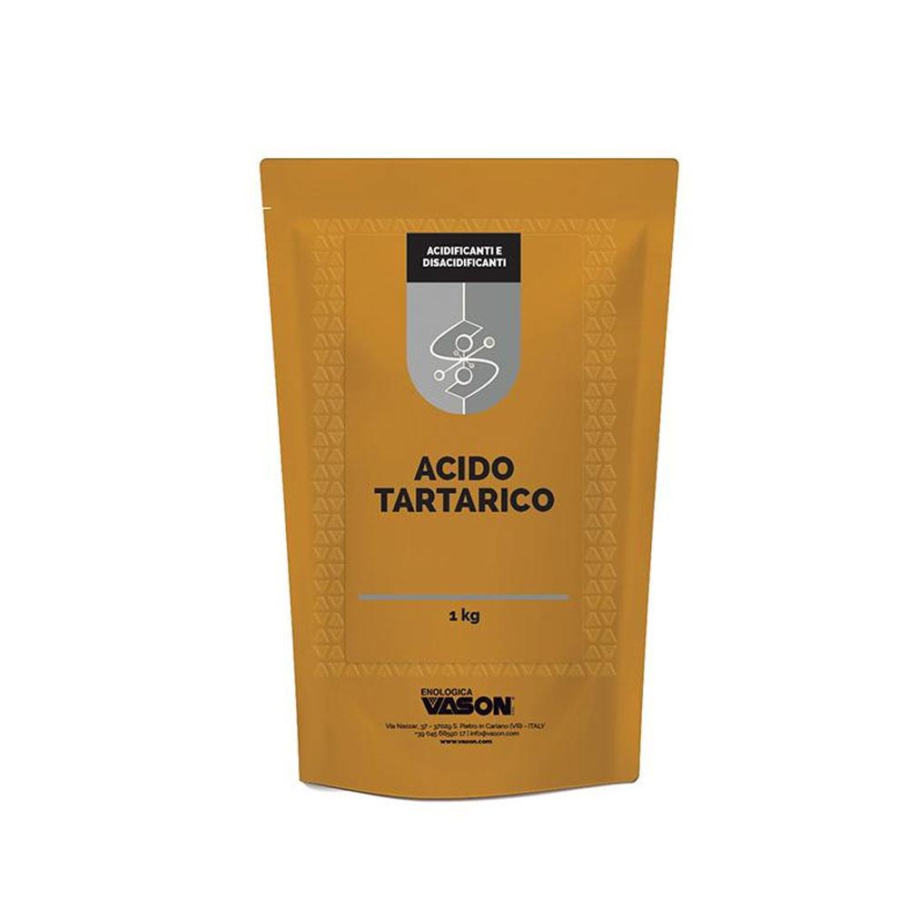 Acido tartarico in polvere 1 kg
