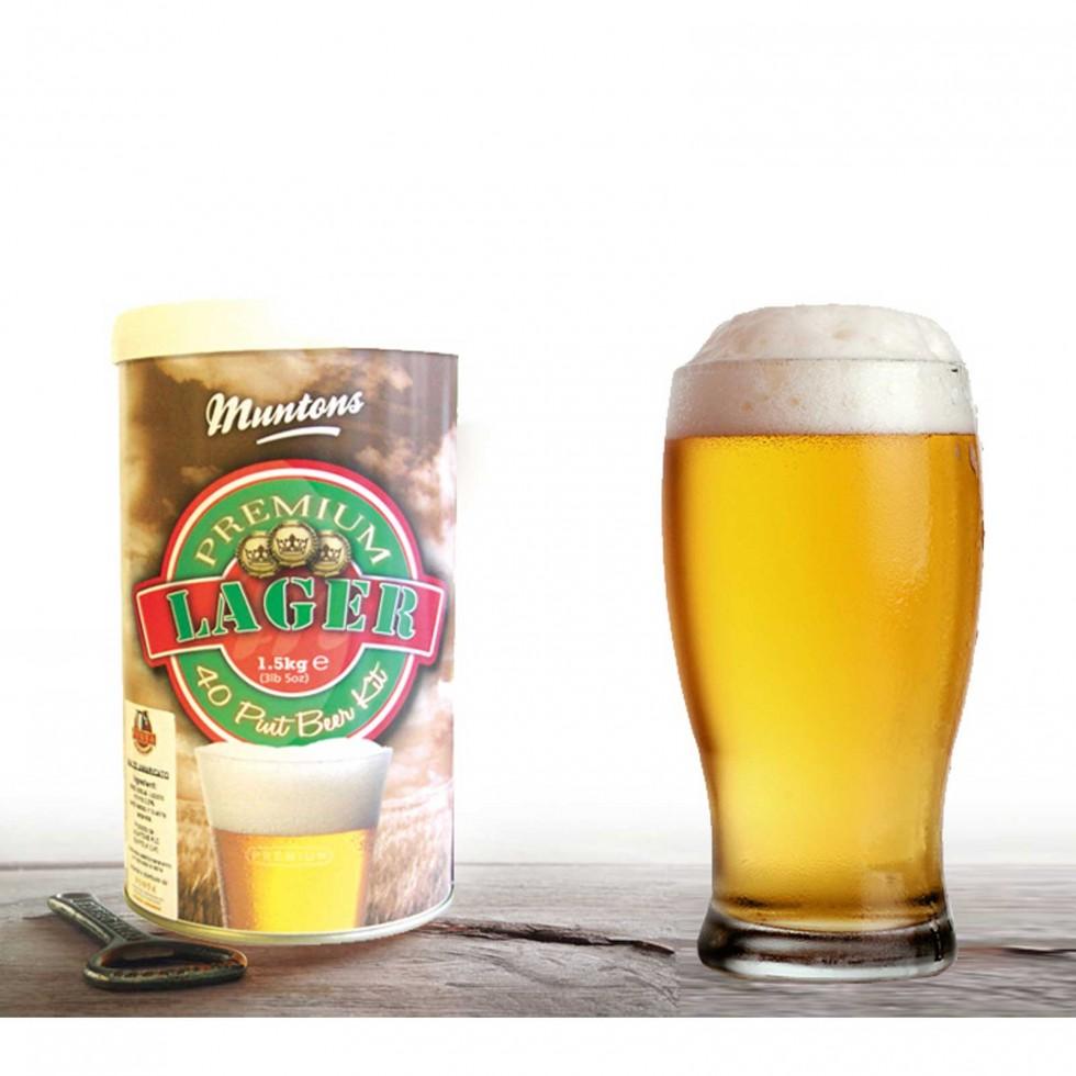 Malto per birra Muntons Premium Lager
