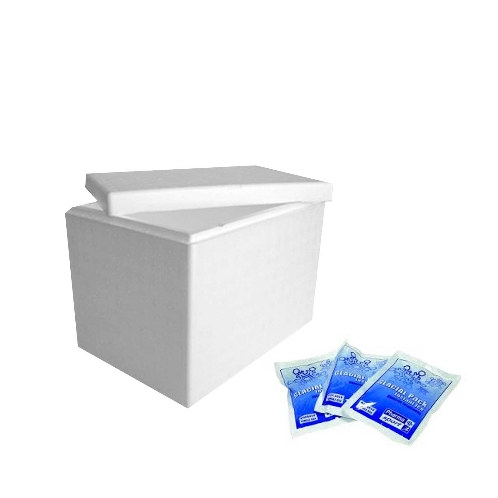 Confezione refrigerata per lieviti liquidi