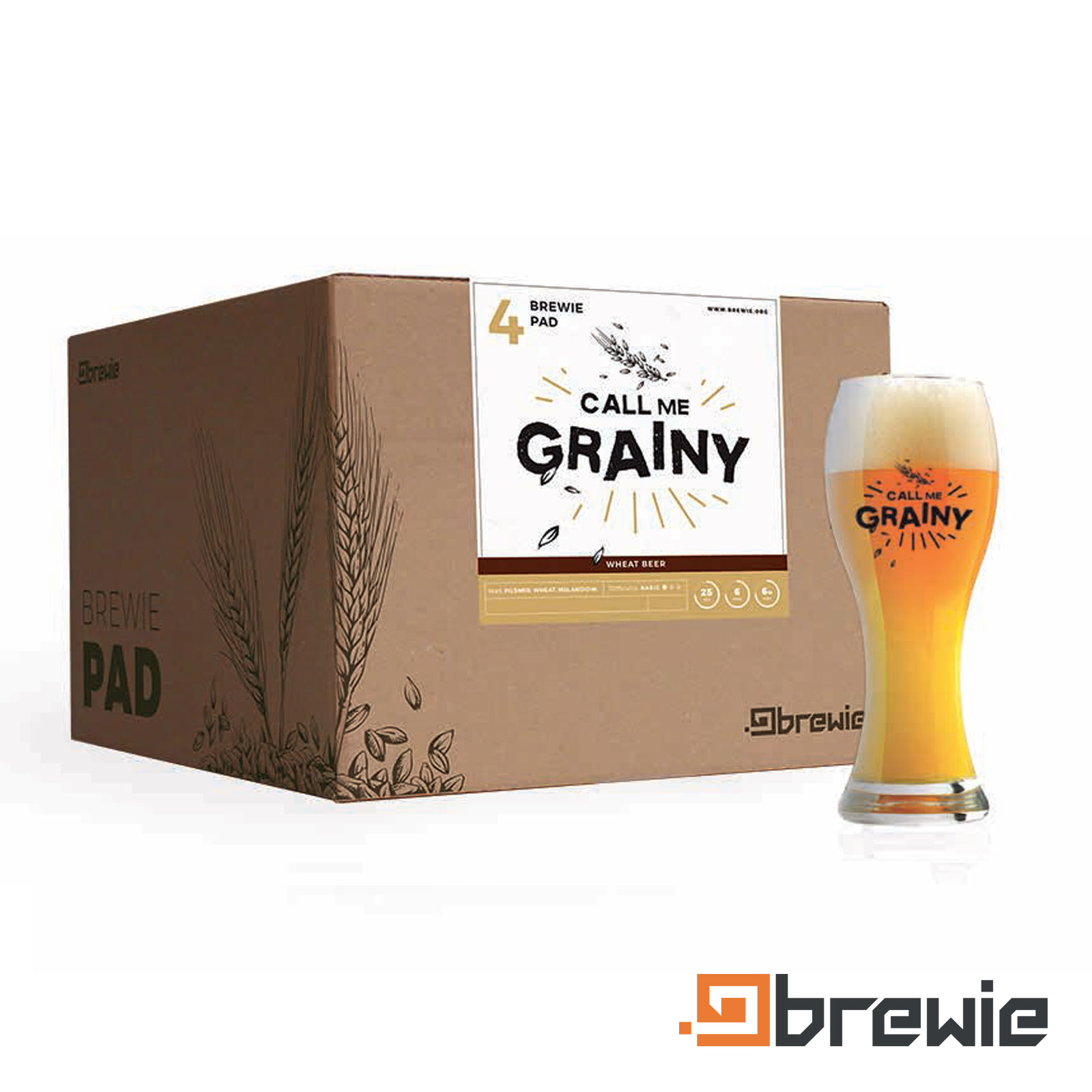 Kit All grain Brewie Call me Grainy Weizen
