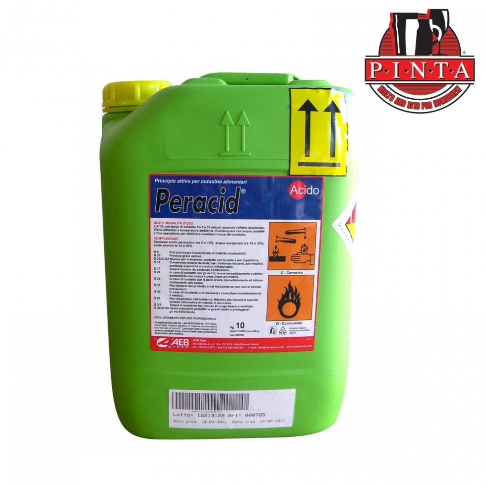 Peracid Acido Peracetico sanificante kg.10
