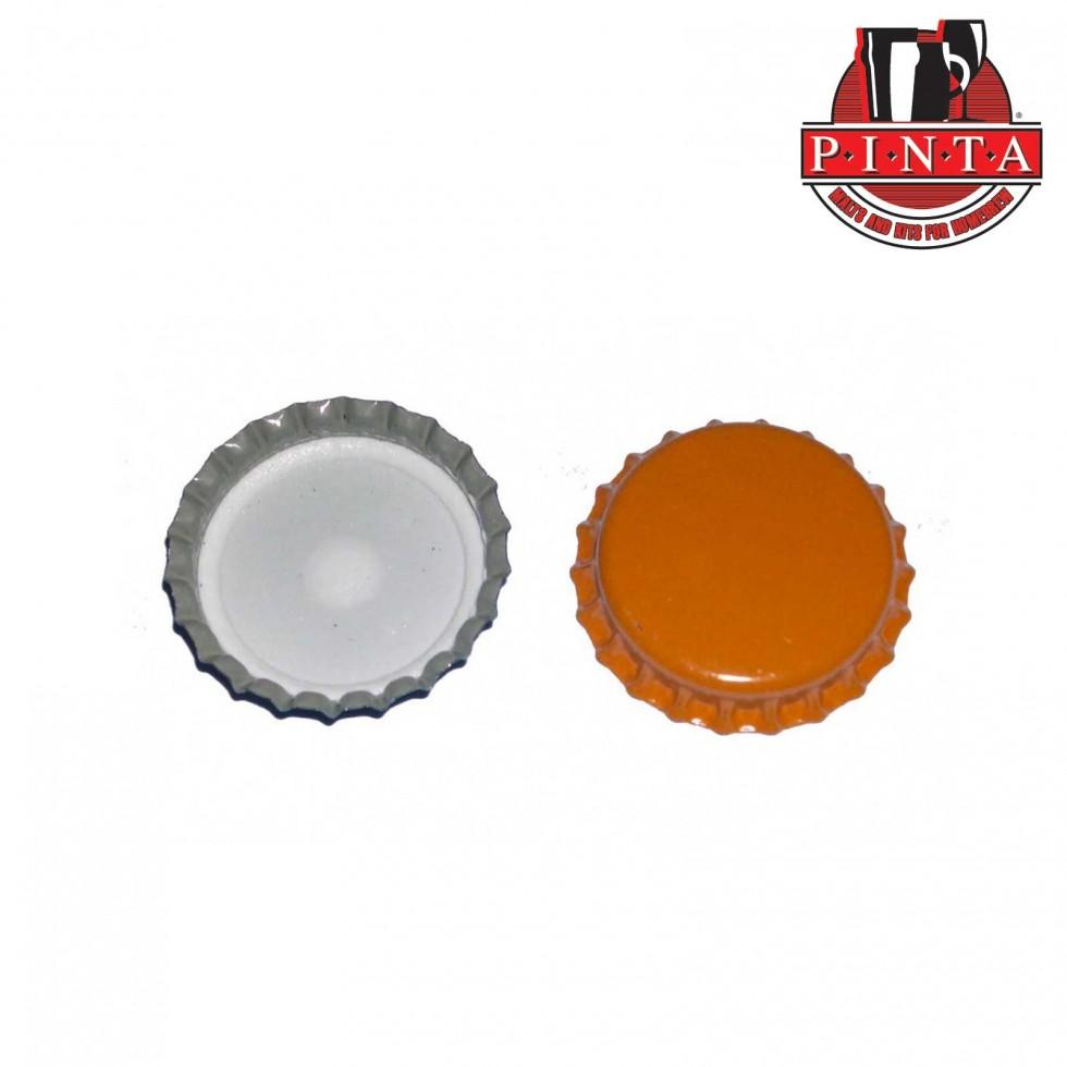 Pinta tappo a corona pz 200 arancione for Tappi antirumore 40 db