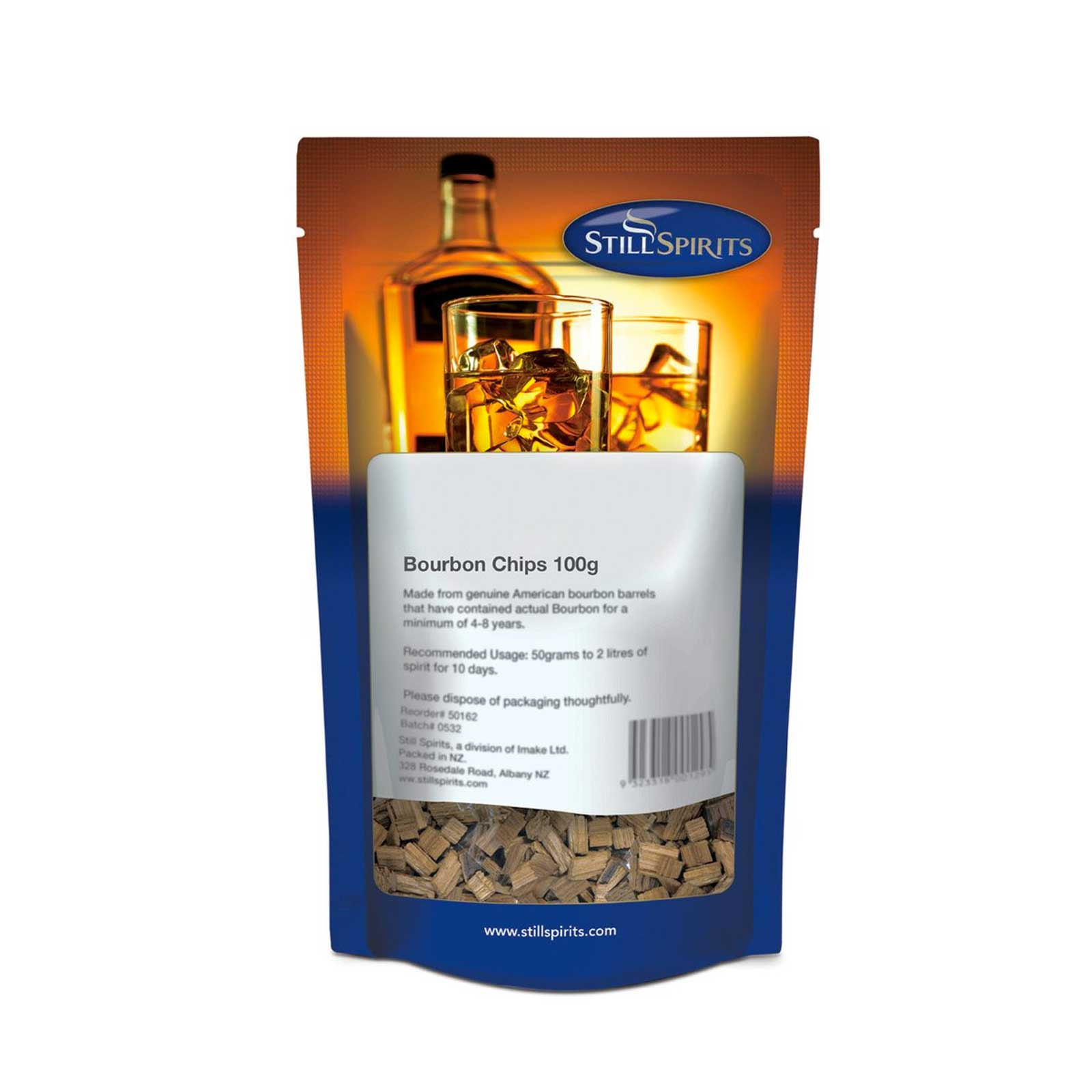 StillSpirits Kentucky Bourbon Chips 100gr