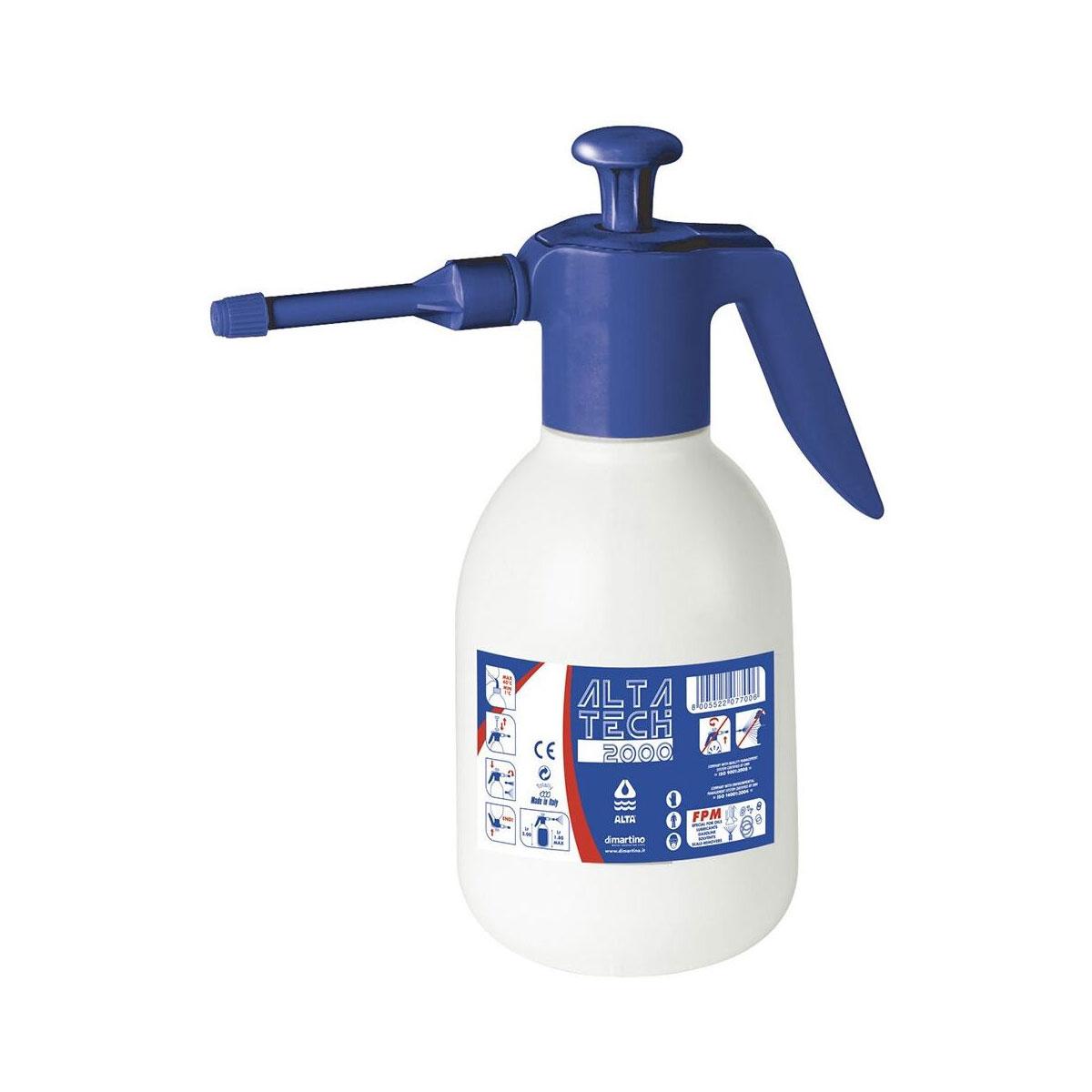 Pompa Manuale l. 2 Per Prodotti Chimici Aggressivi Con Guarnizioni Viton®