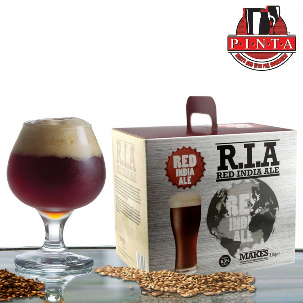R.I.A Red India Ale 3kg.