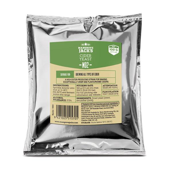 Lievito per sidro Mangrove Cider M02 100gr