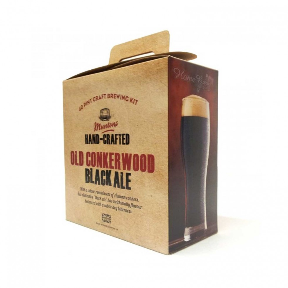 Malto Muntons Hand-Crafted Old Conkerwood Black Ale
