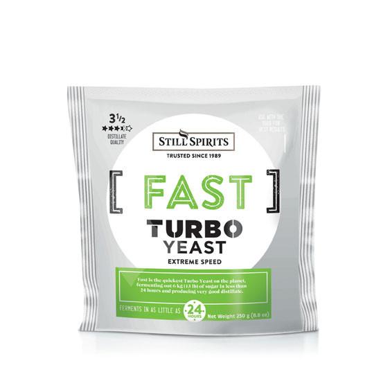 Lievito per distillazione Turbo Fast 250gr
