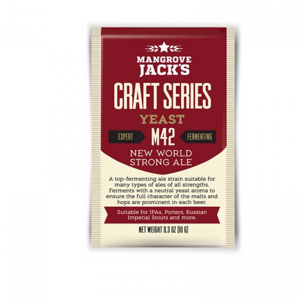 Lievito Mangrove Jack's  New World Strong Ale M42 10gr