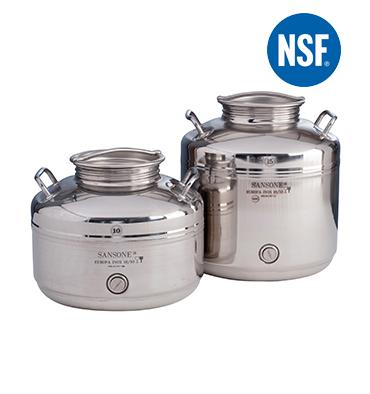 Serbatoio olio Sansone Europa 15 litri